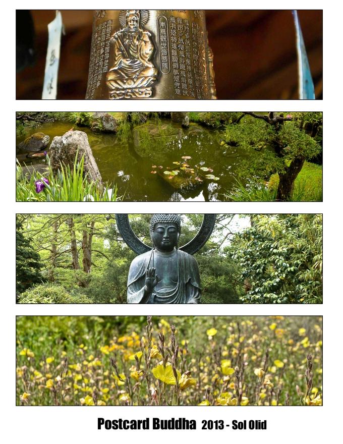 postcard buddha
