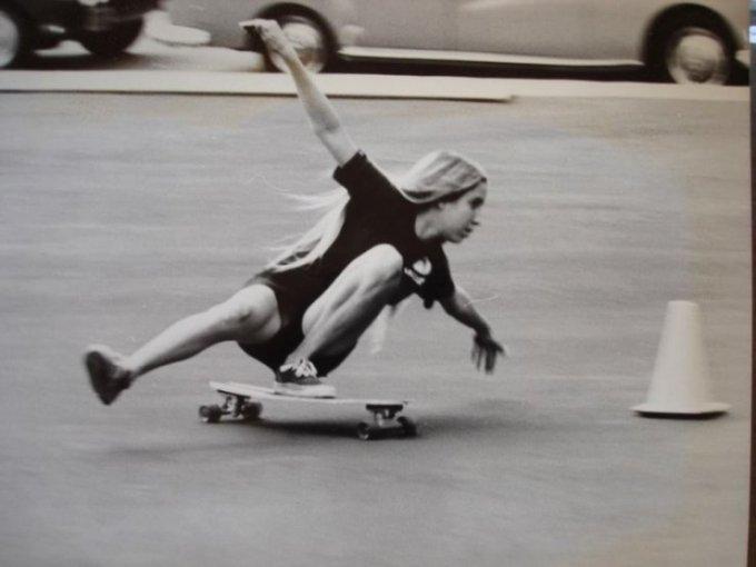 Skater Girls From The 70s