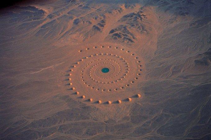 Gigantic Land Art Desert