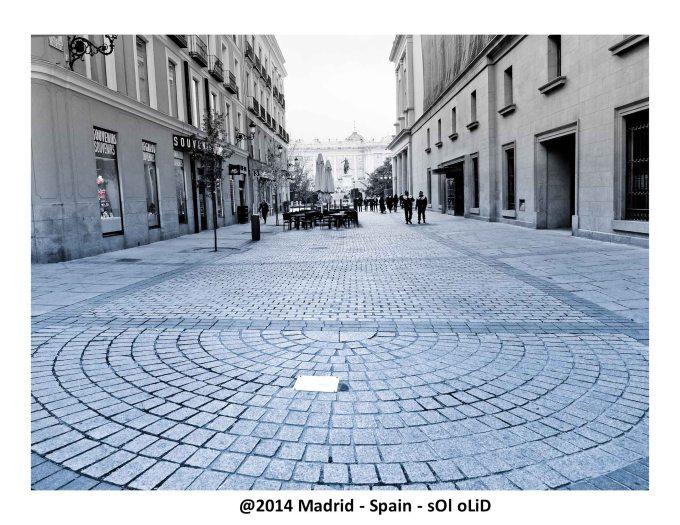 The Royal Palace Walk - Madrid
