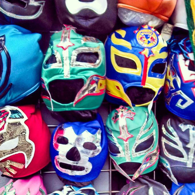Mexican Masks at Mission St. San Francisco