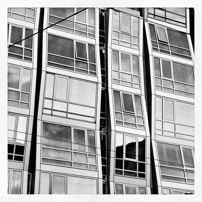 Modern Building in Mission Street. San Francisco