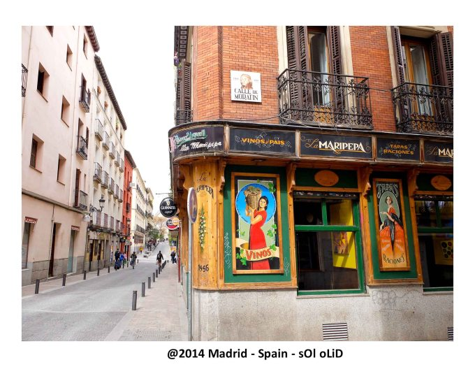 Typical tavern in Old Madrid