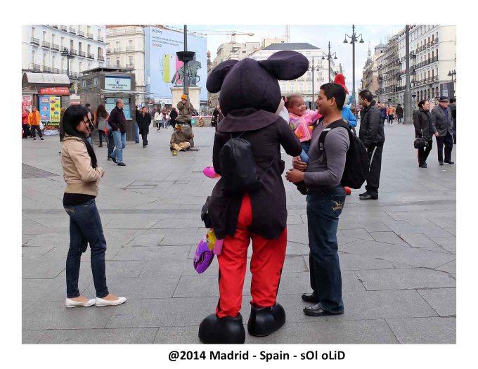 Plaza del Sol  - Madrid.
