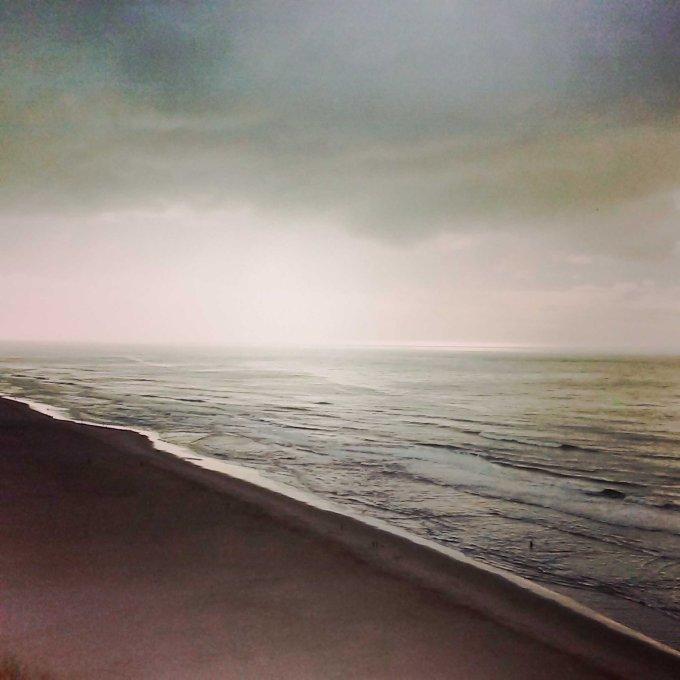 OCEAN BEACH BEFORE THE STORM. SAN FRANCISCO. CALIFORNIA